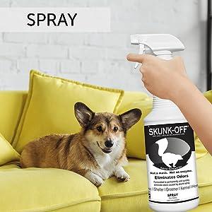 Odorcide Skunk Off Spray Skunk Odor Eliminator