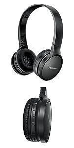 Foldable On-Ear Wireless Bluetooth Headphones