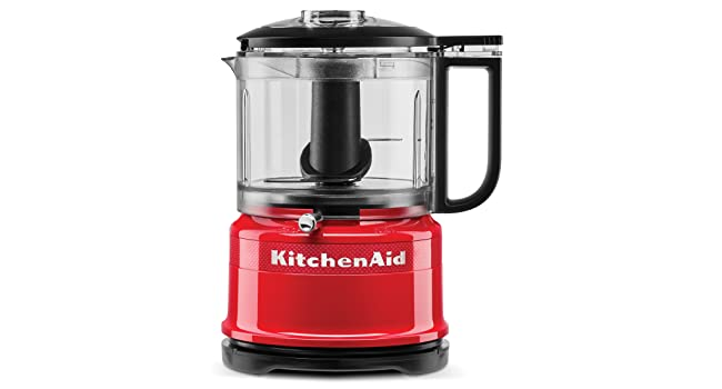 KitchenAid, Food Chopper, Red, 3.5 Cup, 100 Year, Limited Edition, Queen of Hearts Chop, Puree