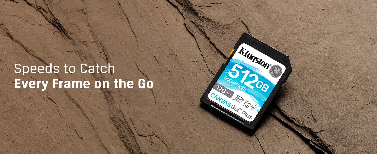 Kingston 512GB Karbonn K707 MicroSDXC Canvas Select Plus Card Verified by SanFlash. 100MBs Works with Kingston