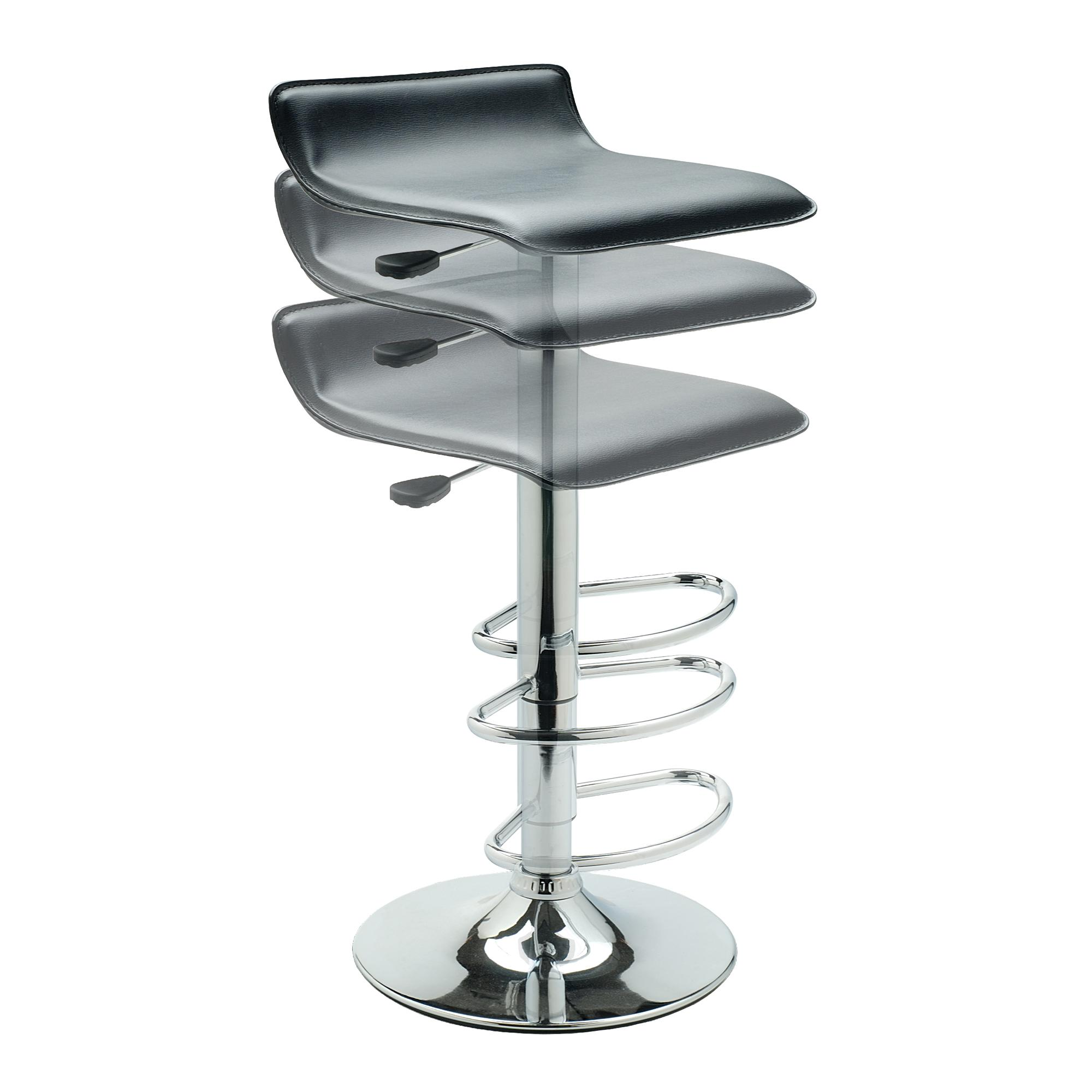 View larger  sc 1 st  Amazon.com & Amazon.com: Winsome Spectrum ABS Airlift Swivel Stool Faux ... islam-shia.org