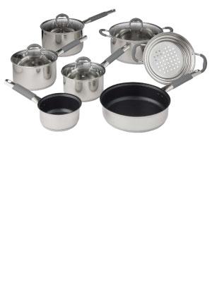 Davis & Waddell; kitchen; cookware; cooking; steaming; pots; pans;