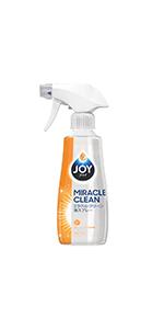 ジョイ ミラクルクリーン 泡スプレー 食器用洗剤 フレッシュシトラスの香り 本体 300mL