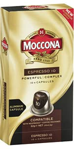 Moccona coffe, Moccona capsules, espresso, coffee machine, coffee capsules