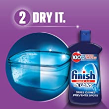 Amazon.com: Finish Jet-Dry Rinse Aid, 23oz, Dishwasher