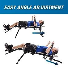 easy angle adjustment
