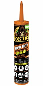 Gorilla Heavy Duty Ultimate Construction Adhesive