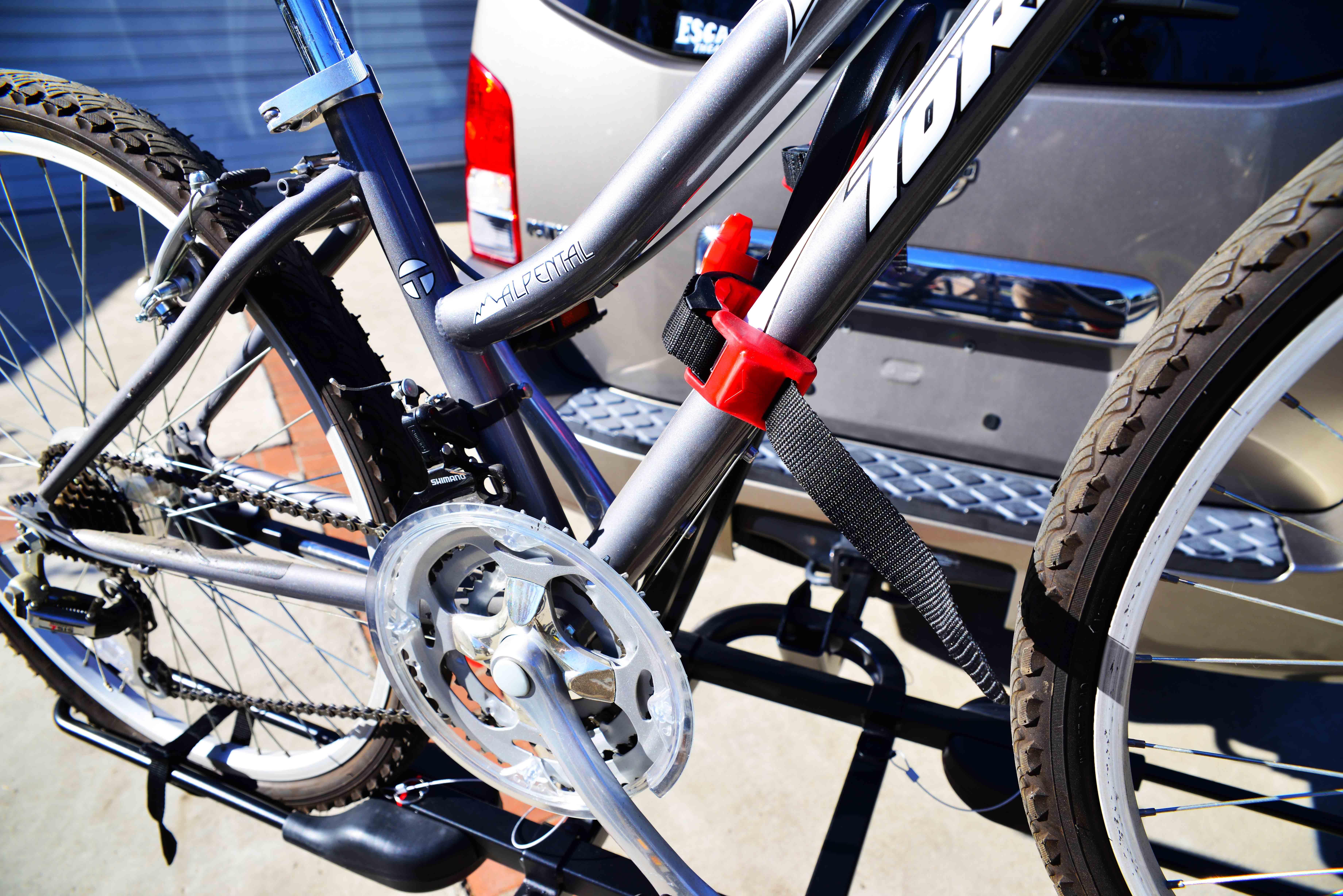 Amazon Com Allen Sports Easy Load Deluxe 2 Bike Hitch