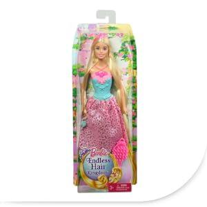 Mattel Barbie DKB60 - Modepuppen, 4 Königreiche