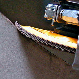 CS Unitec 96714 Magnum Fleece Top Finishing and Polishing Disc 7//8 Arbor 600 Grit Pack of 5 4-1//2 Diameter