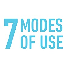 7 modes of use