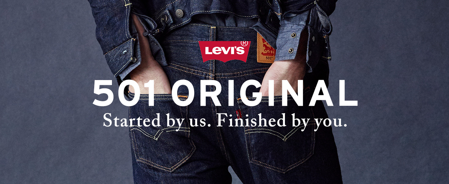 68038258 Levi's Men's 501 Original-Fit Jean at Amazon Men's Clothing store: