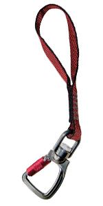 kurgo swivel seatbelt tether, works with any car, for medium large pets, per seat belt