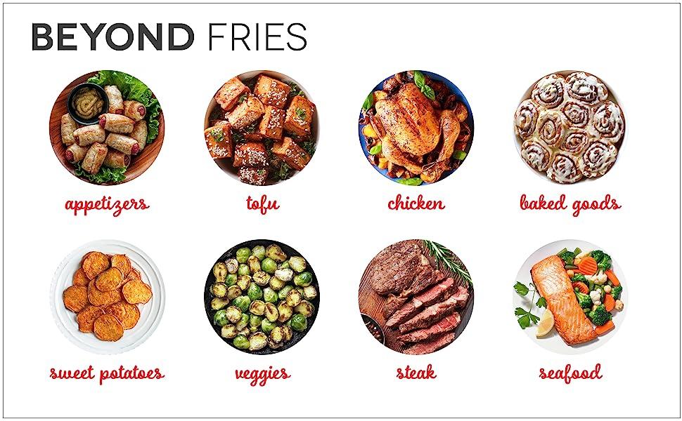 air fryer, deluxe, healthy, fried, fries, air fry, easy, dash, chicken wings