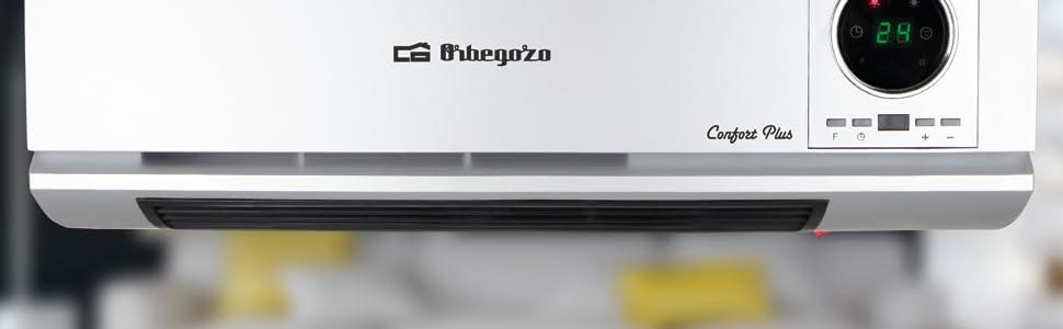 calefactor, calefactor bajo consumo, radiador electrico pared, calefactor baño, calefactor ceramico