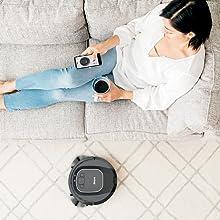 smart vacuum, low profile robot vacuum