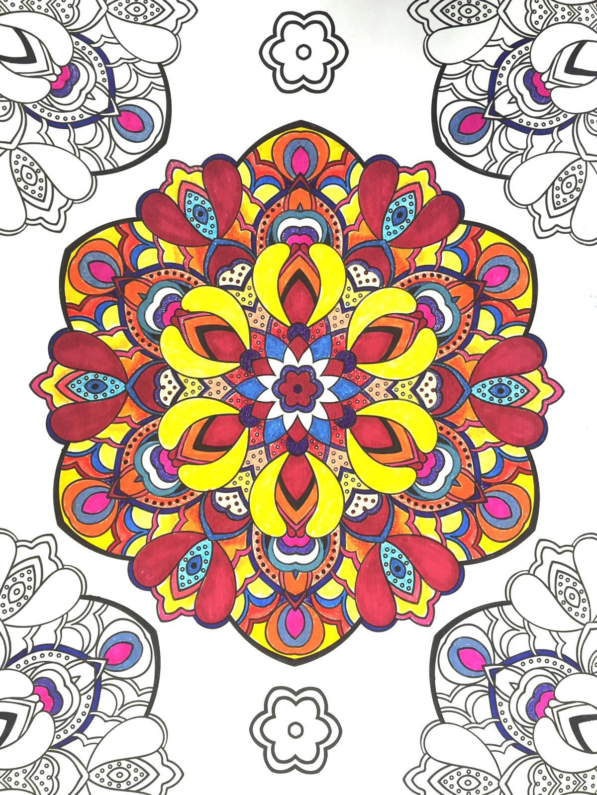 Color art floral wonders - View Larger