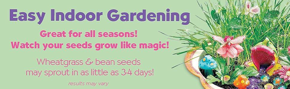nature kits for kids, garden kit for girls, gardening for girls, fairy garden kits for girls, fairy