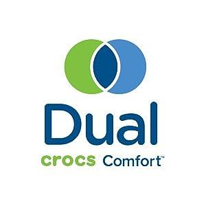 Dual Crocs Comfort