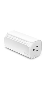Kasa Smart Wi-Fi Plug, 2-Outlets