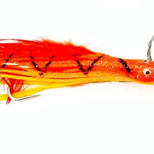 """Boone DOLPHIN RIG  7/0 WIRE RIGGED,SQUIRREL FISH,5 1/2""""/1 OZ"""