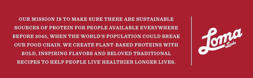 Our Mission Sustainable Healthy Foods for All