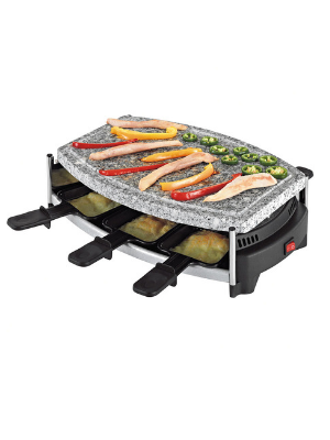 Raclette pierre à grill 6 pers