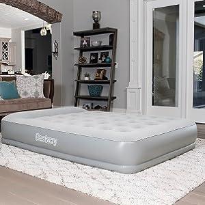 Bestway – Cama Hinchable Rest Aira Premium con Bomba integrada