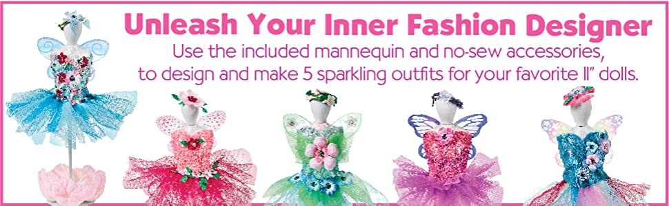 Doll Clothes, Creativity for Kids, Designing, Design by You Fairy Fashion, Fairies, Fashion Designer