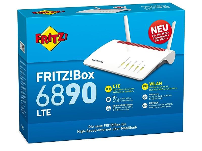 Avm Fritz Box 6890 5 Ghz2 4 Ghz Geeignet Für Computer Zubehör