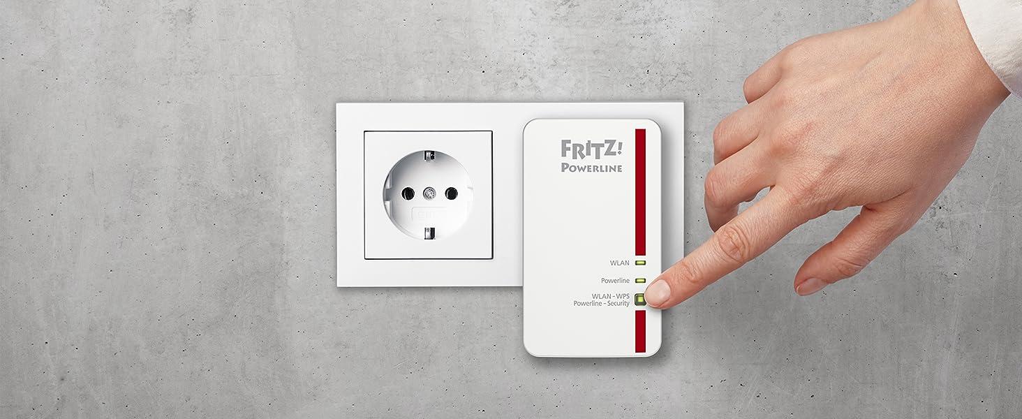 FRITZ!Powerline 1240E Set
