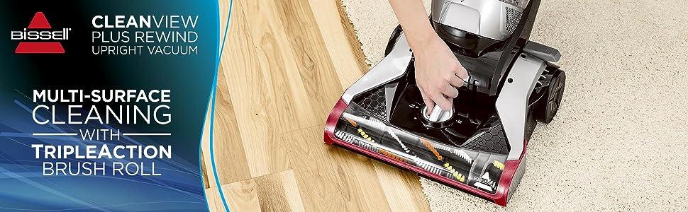 vacuum bagless vacuum vacuum cleaner pet vacuum bissell cleanview upright