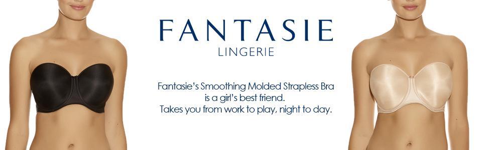 4005661761 Fantasie Women s Smoothing Moulded Strapless Bra 4530 at Amazon ...