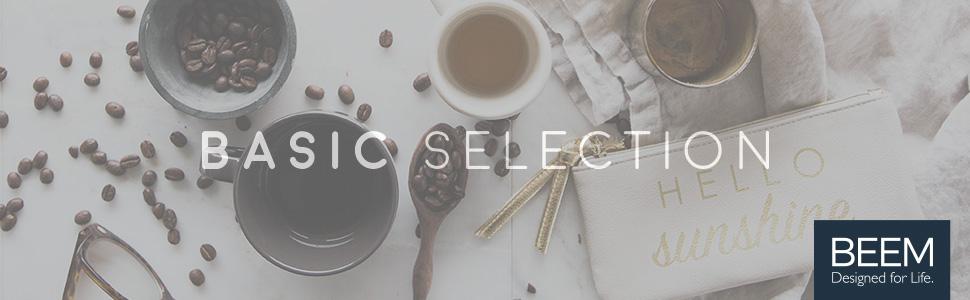 BEEM Basic selection coffee Banner Brand