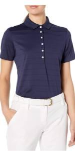 Pique Open Mesh Polo Shirt