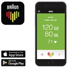 Braun; Tensiómetro de brazo; ExactFit 5 Connect; BUA6350;