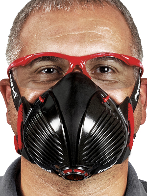 TREND STEALTH//ML AIR STEALTH RESPIRATOR HALF MASK DUST MASK MEDIUM//LARGE APF20