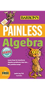 Painless pre algebra painless series amy stahl 9781438007731 barron s painless books painless series painless study guides painless algebra fandeluxe Images