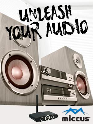 Amazon.com: Miccus X7 Antena - Aumenta tu rango de audio ...