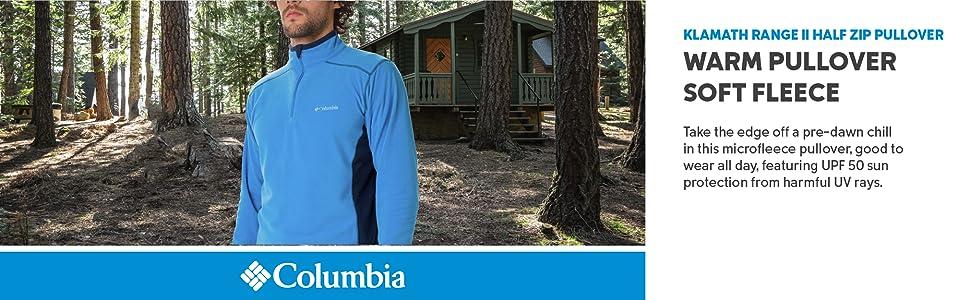 Columbia Men's Klamath Range II Half Zip Pullover