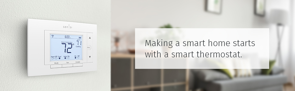 smart thermostat, sensi, smart home