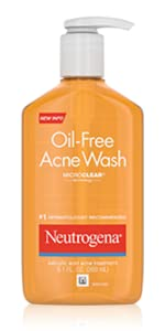 oil free facial cleanser wash