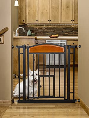 Carlson design paw auto close pet gate