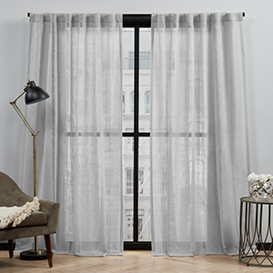 grey curtains, kids draperies, gray sheer curtains, curtains 96 inches long