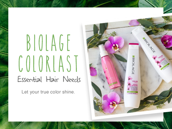 biolage shampoo conditioner color treated hair