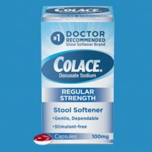 Colace Regular Strength Stool Softener