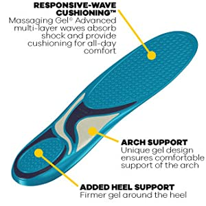 Dr. Scholl's Massaging Gel Advanced Insoles