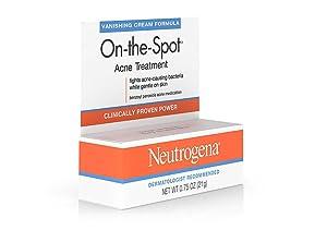 Amazon Com Neutrogena On The Spot Acne Spot Treatment With 2 5