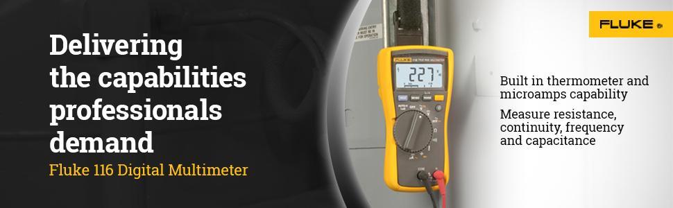 Fluke 116 Hvac Multimeter Amazon