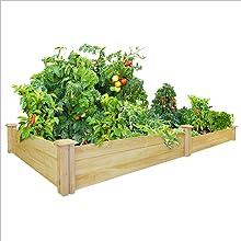 Amazon.com: Greenes Fence 48-Inch x 96-Inch Cedar Raised